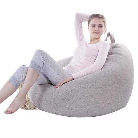Amazon.com: YHz@Lazy - Puf de sofá individual, sofá ...