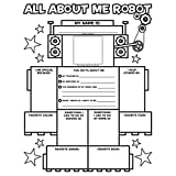 Graphic Organizer Posters: All About Me Robot