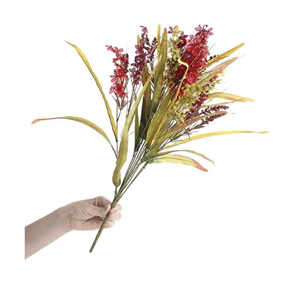 Factory-Direct-Craft-Bountiful-Artificial-Delphinium-and-Wild-Grass-Floral-Bundle-for-Centerpieces-Designing-and-Displaying