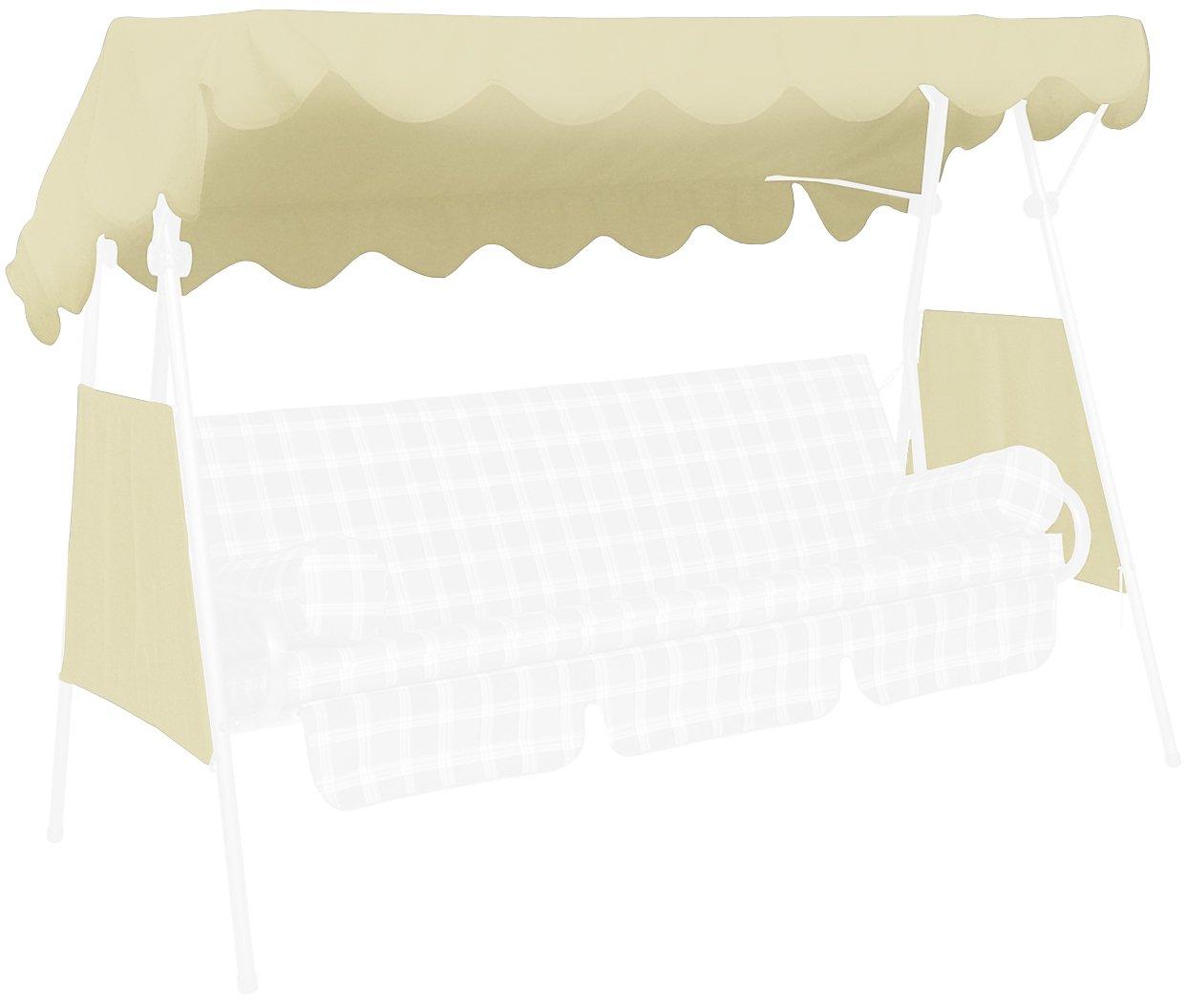 Angerer Tetto del dondolo 200 x 120 cm, qualità Swingtex, colore avorio 807/12