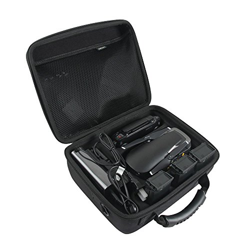 Adada Hard EVA Case Fits DJI Mavic Air Fly More Combo Portable Quadcopter Drone by Adada