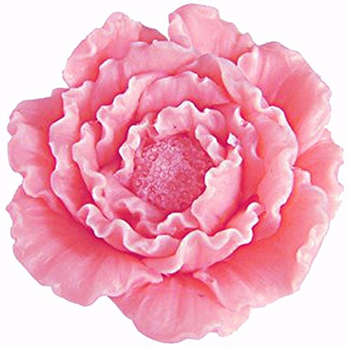 Mujiang 3D Peony Flower Cake Decorating Silicone Jello Sugar Chocolate Fondant Molds
