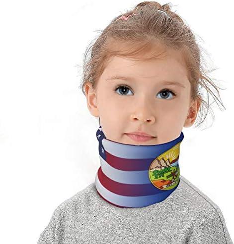 Fleece Neck Gaiter for Girls Boys Children Scarf for Cold Weather NovForth Winter Kids Neck Warmer