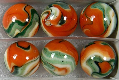 Swirled Glass Vase - 7