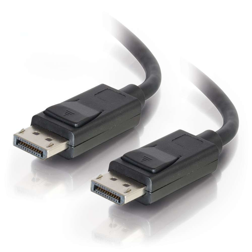 C2G m/âle vers m/âle c/âble DisplayPort avec loquets 2 m Noir