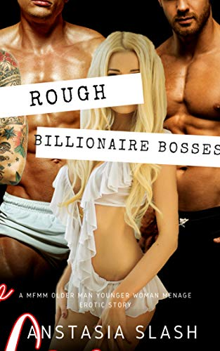 Rough Billionaire Bosses: A MFMM FIRST TIME MENAGE ROMANCE (v-card Book 3) ()