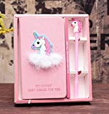 XXMANX Unicorn Diary Notebook Gift Set for Girls, Gifts for Girls of All Ages: 3 4 5 6 7 8 9 10 11...
