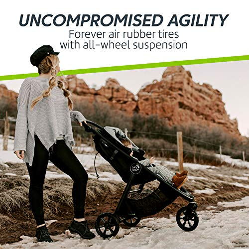 Baby Jogger City Mini GT2 Stroller – 2019 Baby Stroller with All-Terrain Tires Quick Fold Lightweight Stroller
