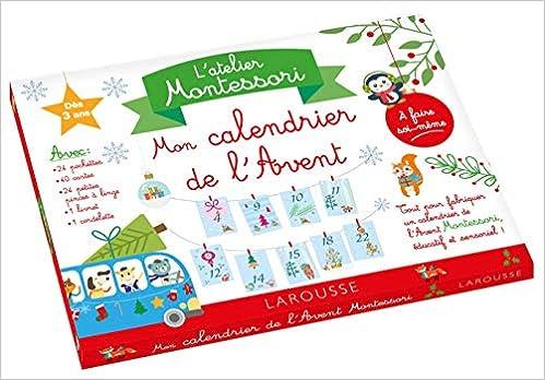 Calendrier De L Avent Histoire.Mon Atelier Montessori Calendrier De L Avent Amazon Fr