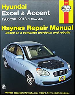 Hundai excel accent 1986 thru 2013 all models haynes repair hundai excel accent 1986 thru 2013 all models haynes repair manual editors of haynes manuals 9781620921685 amazon books fandeluxe Image collections