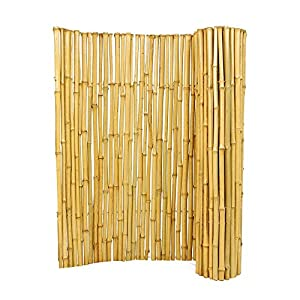 Backyard X-Scapes 3/4 in. D x 3 ft. H x 6 ft. W Natural Bamboo Fence