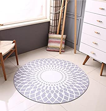 tapis mode scandinave tapis rond gris salon table basse grand tapis - Tapis De Chambre