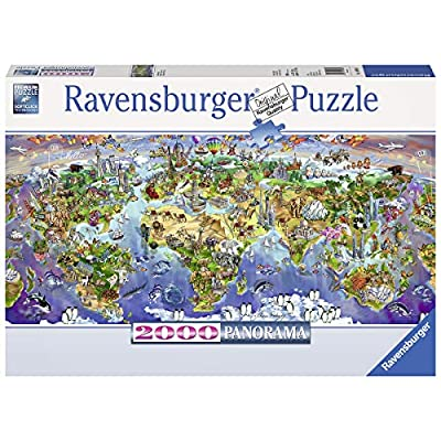 Ravensburger 2000 Pezzi World Wonders Panorama Puzzle