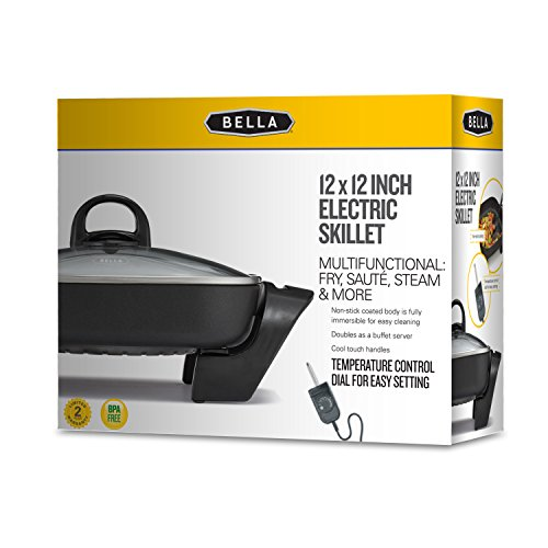 Bella electric skillets manuals online
