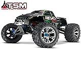 Traxxas 53097-3 1 10 Revo 3.3 4WD Nitro RTR Vehicle with TQi 2.4 TSM