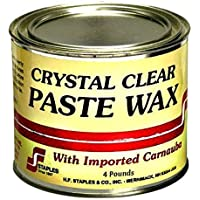 Staples 212 Carnauba Paste Wax, 4-Pound, Clear by Staples