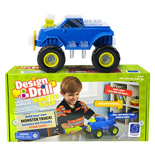 Educational Insights Design Vehicles Monster