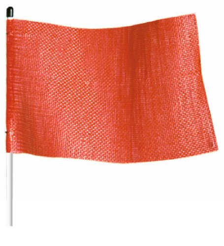 (Flagstaff FSRR7 Safety Flag, Threaded Hex Base,  11-1/2