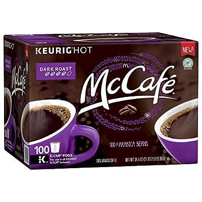 McCafé Dark Roast Coffee Single Serve Pods (100 ct.)