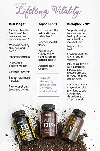 doTERRA Lifelong Vitality Pack— Alpha CRS+, xEO Mega and Microplex VMz by doTERRA (Image #1)