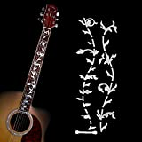 Kyпить Acoustic Electric Tree of Life Music Guitar Bass DIY Neck Fretboard/ Fret Inlay Sticker/ Stikers Silver Thin на Amazon.com