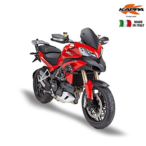 - Kappa KD7401NO Low Black Opaque Windscreen 35 x 28 cm (H x W) for Ducati Multistrada 1200 (13)