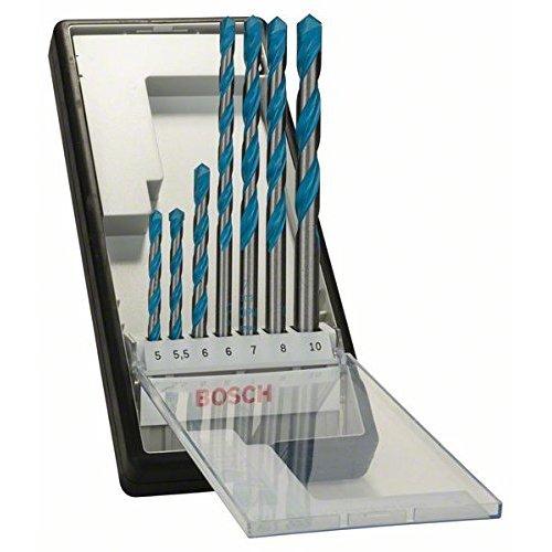 -[ Bosch 2607010546 Multi-Construction Drill Bits, 7 Pieces  ]-