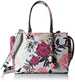 Apparel : GUESS Seraphina Floral Large Satchel
