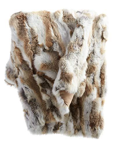 Adrienne Landau Fur Throw ()