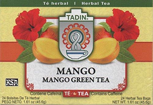 Tadin Mango Green Tea Bag, 24-count - Elderberry Tea 24 Bags