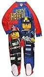 LEGO Big Boys' Blanket Sleeper Good Cop, Red/Blue, 10/12