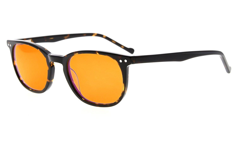 Eyekepper Computer Glasses-Acetate Frame-Better Sleep Reading Glasses For Small Face Men Women Teenager (Tortoise, 2.00)
