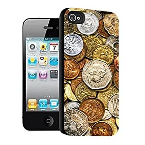 SHOUJIKE Coins Pattern 3D Effect Case for iPhone5
