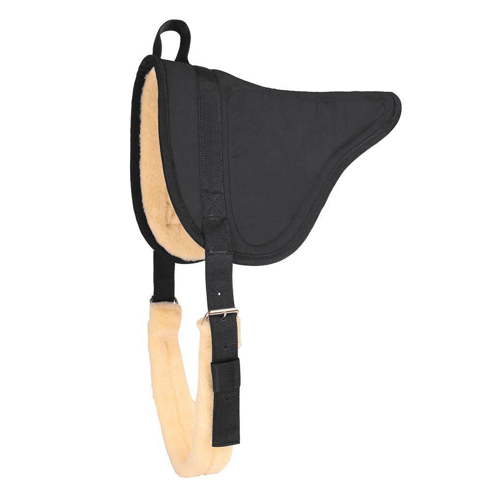 Mustangマイクロスエード素材Barebackパッド  ブラック B003X3UY5W