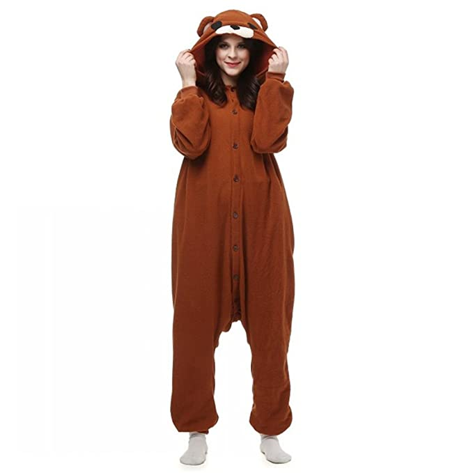 dressfan Pijamas de Animales Disfraces de Animales Oso Traje ...