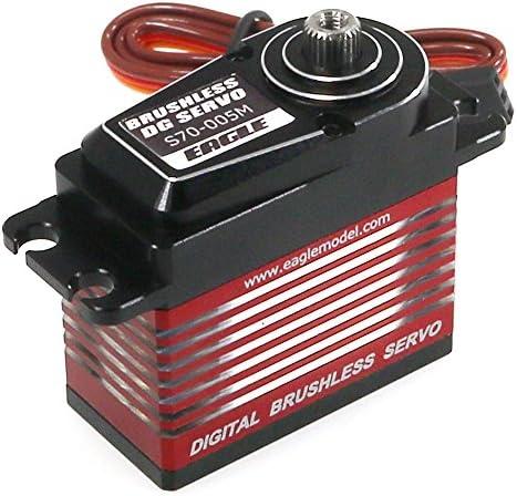SPブラシレス・デジタルサーボ (7Kg、メタルギヤ) SE-S70-005M