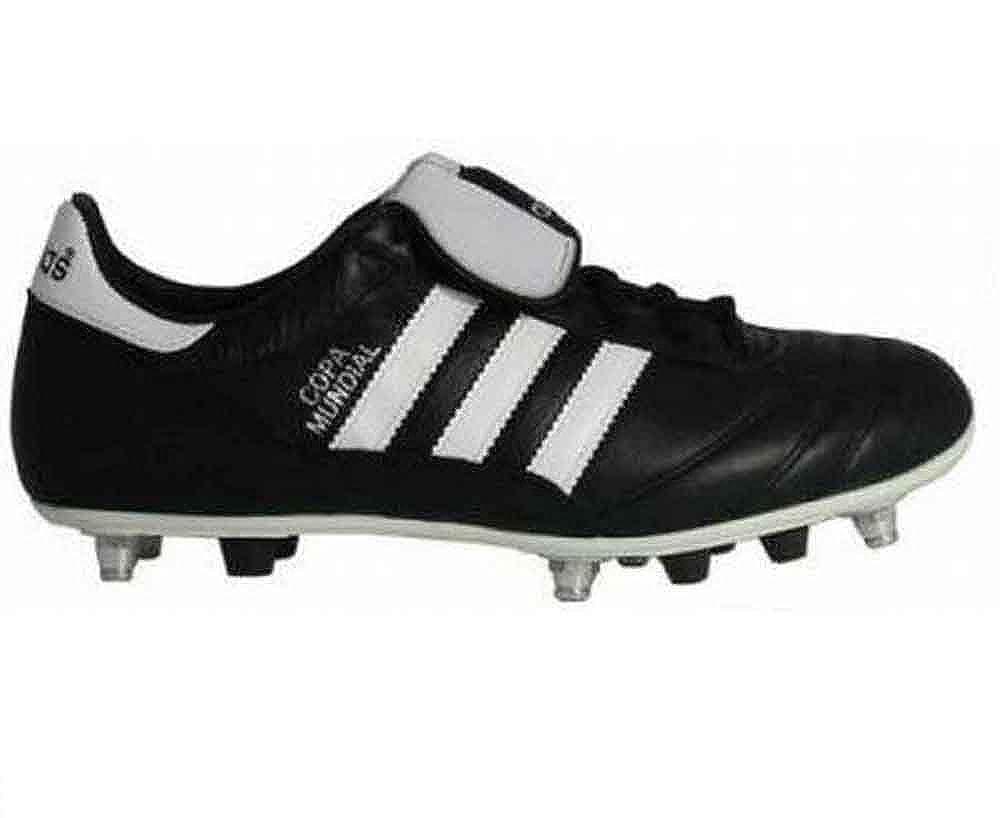 adidas - Botas de fútbol de cuero para hombre negro Schwarz/Weiß: Amazon.es: Deportes y aire libre