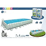 Piscine tubulaire intex ultra silver x x m for Piscine intex 3 66x1 22