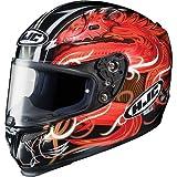 HJC Mugello Men's RPS-10 Full Face Motorcycle Helmet - MC-1 / X-Large