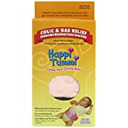 Happi Tummi Baby Gas Relief All Natural Belly Wrap Natural Herbal Aroma Therapy Relief For Infants and Babies with Colic, Gas,Upset Tummies Pretty-n-Plush Pink