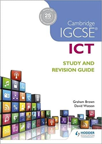 Cambridge IGCSE ICT Study and Revision Guide (Igcse Study Guides)
