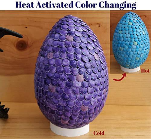 (Color Change Dragon Egg Purple to Blue Gender)