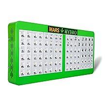 MarsHdyro Reflector 240W 480W 720W 960W LED Grow Light Full Spectrum for Indoor Plants Veg and Flower (480W LED with 207W True Watt)