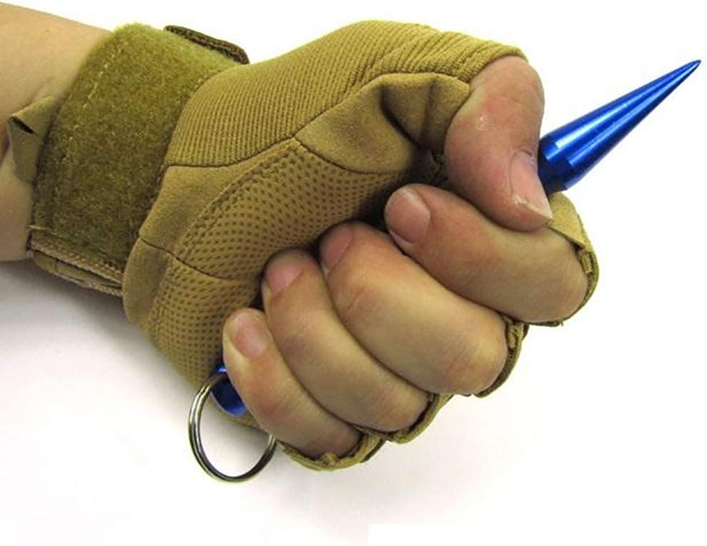 Blue NIUTA Self Defense Keychain,Suitable for All Kinds of People,2 Pack