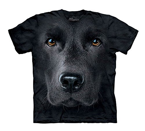 The Mountain Black Lab Face
