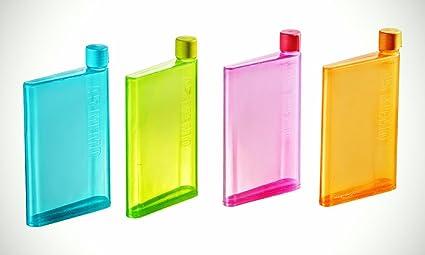570ed2f14a Buy Stuff Jam A5 Memo Bottle Flat Portable Notebook Water Bottle 450 ...