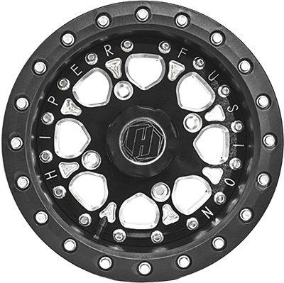 Hiper Wheel 14X7 Dbl Fs14'' 5+2 4/156 1470-PBKB4-52-DBL-BK