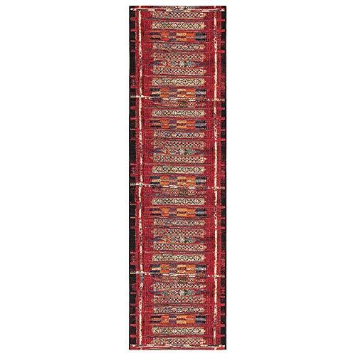 - Liora Manne MNAR8805724 Marina Home Tribal Stripe Indoor/Outdoor Runner Rug 23