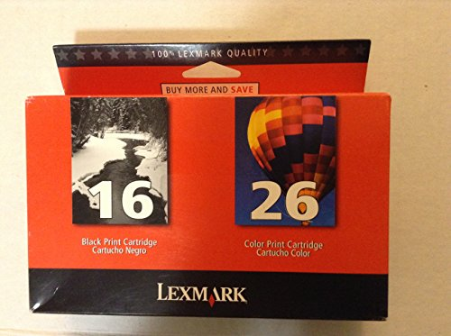 Lexmark International, Inc - Lexmark Twin Pack Color Ink Cartridge - Assorted, Color - Inkjet - 410 Page, 275 Page - 2 / Pack Product Category: Print Supplies/Ink/Toner Cartridges from Lexmark