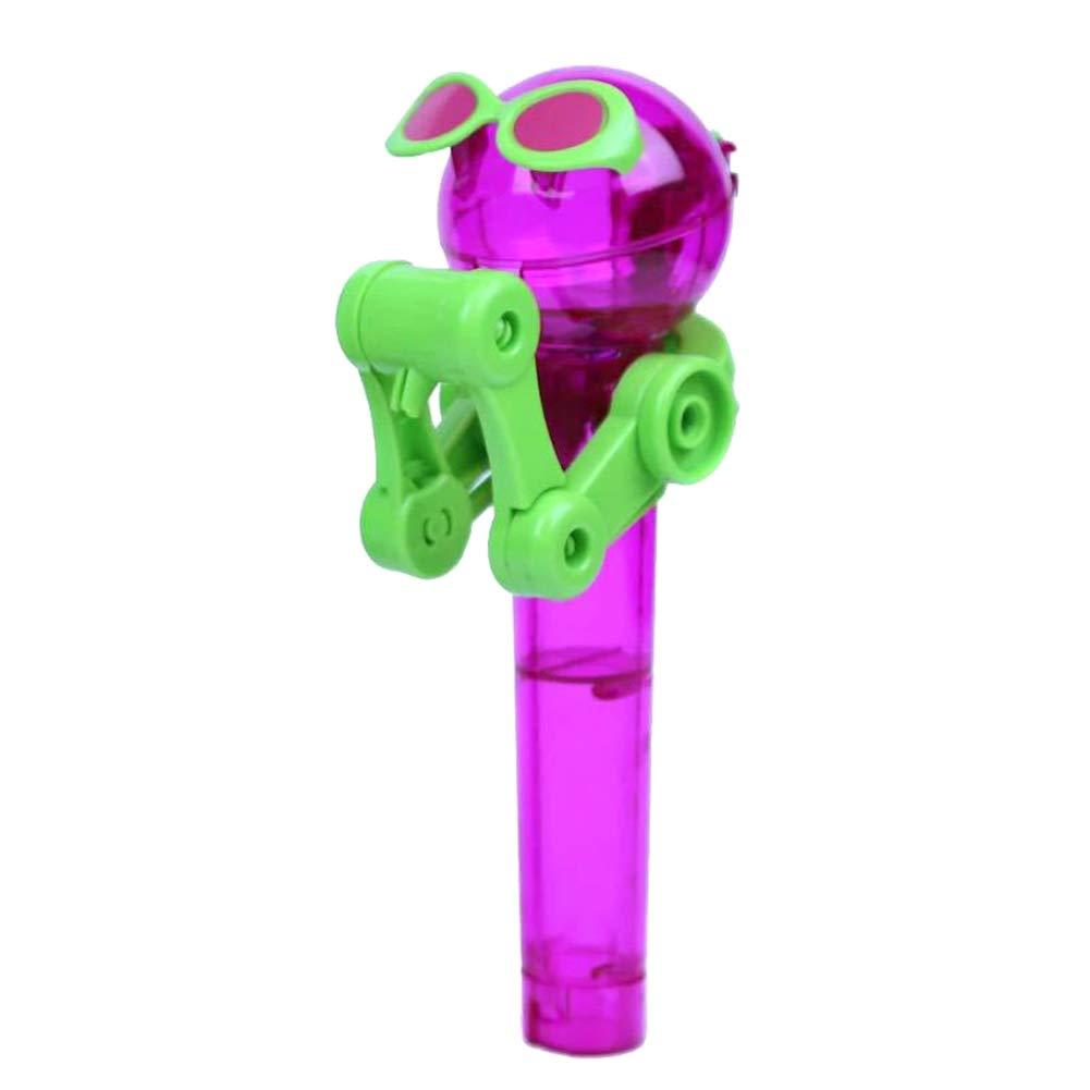 ZREAL Kinder, die Roboter-Lutscher-Stand-Werkzeug-staubdichte Süßigkeits-Halter-Geschenk-Kind-Spielzeug Essen